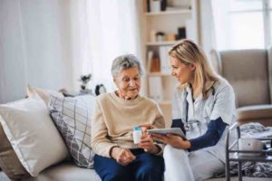 elderly care and fall prevention
